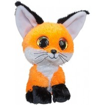 knuffel Lumo Fox Repo oranje 15 cm