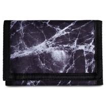 portemonnee 14 x 9 cm zwart/grijs