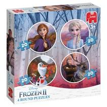legpuzzels Disney Frozen 2 20 stukjes 4-delig