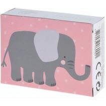 mini puzzel 13 x 18 cm olifant