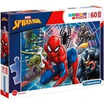 supercolor maxi puzzel Spider-Man 60 stukjes