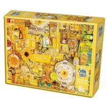 Legpuzzel geel 1000 stukjes