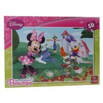 legpuzzel Disney Minnie Mouse Bow-Tique 50 stukjes