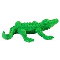 gum Animal krokodil 10 x 7 cm junior groen