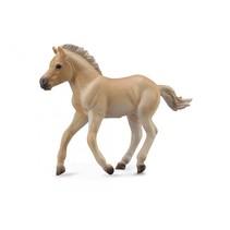 paarden: Fjord veulen 9 cm lichtbruin