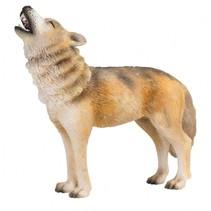 Bosdieren: Wolf Huilend 9 X 2,8 cm