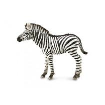 speelfiguur zebraveulen zwart/wit 9 x 7 cm