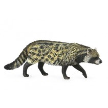 wilde dieren Afrikaanse civetkat 9 cm