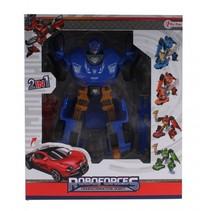 Roboforces transformation robot blauw 20,5 cm