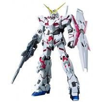 Gundam Unicorn bouwpakket Titanium Finish grijs/rood