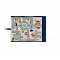 verkeerskleed Travel & Play 67 x 47 cm multicolor