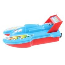speedboot 15 cm blauw