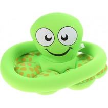 ringwerpspel octopus 17,5 cm groen