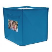 persoonlijke opbergbox 22 liter blauw