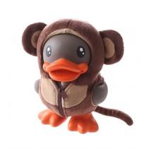 spaarpot eend bruin aapje 16 cm