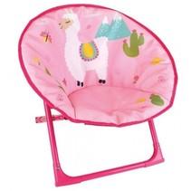 kinderstoel Moonchair Lola Lama 52 x 48 x 46 cm roze