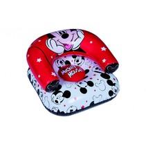 Mickey Mouse opblaasbare stoel rood 60 cm