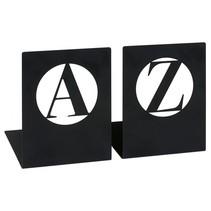 libri_x boekensteun A-Z modern zwart