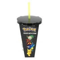 beker met rietje Pokémon Sun & Moon 500 ml
