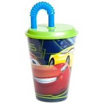 drinkbeker Cars 3 met rietje 400 ml
