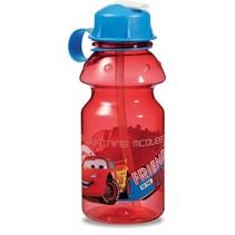 drinkfles Cars 400 ml rood