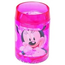 Beker Minnie Mouse 11 x 7 cm dubbele wand roze