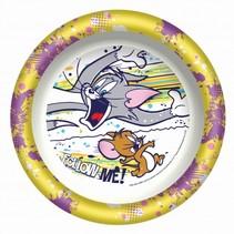 diep bord Tom & Jerry 20 cm geel