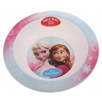 Frozen kom 16 cm lichtblauw/roze