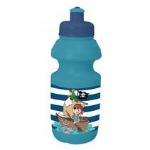 bidon Piraat 350 ml blauw