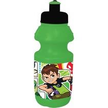bidon Ben 10 groen/zwart 350 ml