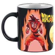 warmtemok Dragonball Z Super Saiyan zwart/oranje 300 ml