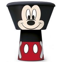 eetset Mickey Mouse 3-delig zwart/rood