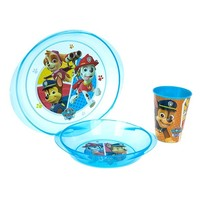 Lunchset Paw Patrol Marshall magnetron blauw 3-delig