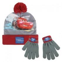 Cars winterset 2-delig junior rood/grijs