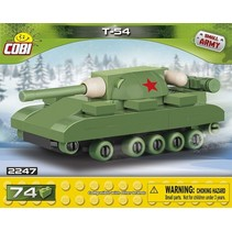 Small Army T-54 Tank bouwset 74-delig 2247