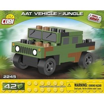 Small Army Tank Vehicle Jungle bouwset 42-delig 2245