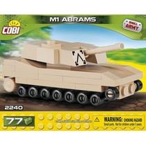 Small Army M1 Abrams bouwset 77-delig 2240