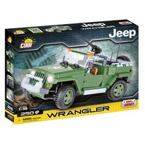 Small Army Wrangler Military Jeep bouwset (24260)