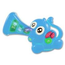 muzikale olifant 18 cm blauw