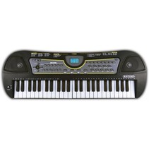 digitaal keyboard en tas 49 toetsen zwart