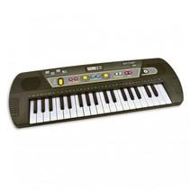 digitaal keyboard met 37 toetsen zwart 53 cm