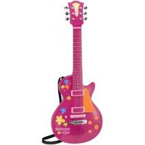 Elektrische I Girl Rock gitaar roze