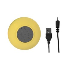 bluetooth speaker 9 cm geel
