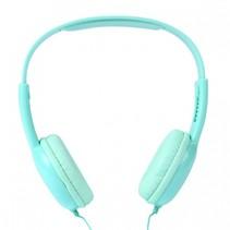 koptelefoon met volumebegrenzing junior 16 cm mintgroen