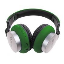 koptelefoon on ear wireless Bluetooth groen