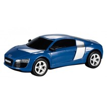 Car Speed racebaan auto Audi R8 blauw