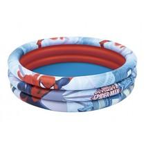 opblaaszwembad Spider-Man 122 x 30 cm blauw/rood