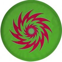 frisbee foam groen 45 cm