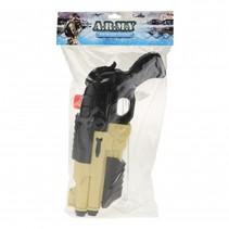 leger waterpistool beige/zwart 42 cm