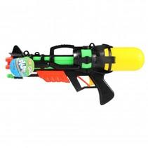 waterpistool zwart/groen 37 cm